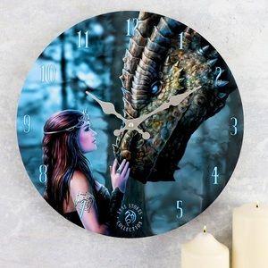 2/95$ Large Dragon Wall Clock BNIB